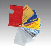 Карманы для пластиковых или бумажных карт